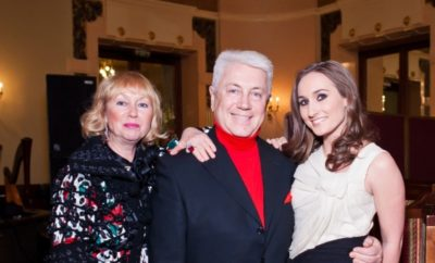 Владимир Винокур с семьей