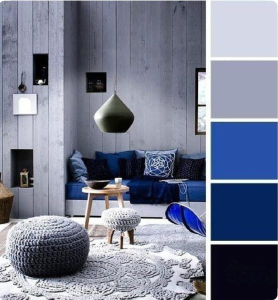 Серый цвет в интерьере и его сочетание с другими цветами – примеры дизайна и фото