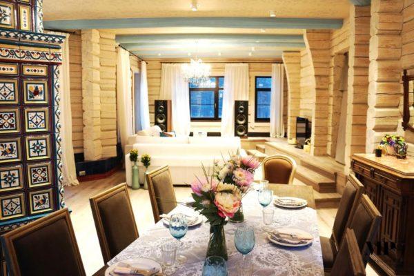 Старорусский стиль в интерьера дома гардемарина Жигунова