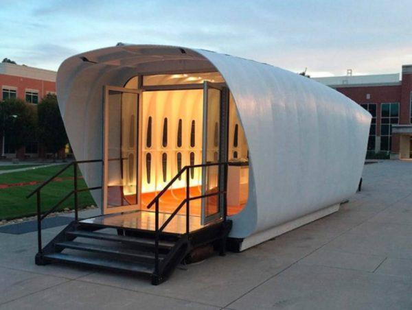 Новейшие технологии: дома из 3D принтера