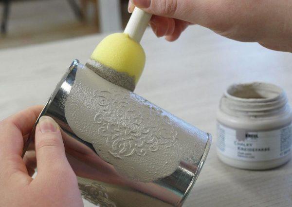 Меловая краска: где и как правильно используется смесь