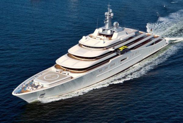 Самая большая яхта в мире Романа Абрамовича