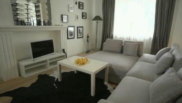 Просторная квартира и интерьер комнат Татьяны Овсиенко