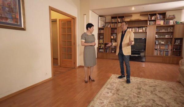 Шикарный интерьер квартиры Николая Добрынина после ремонта