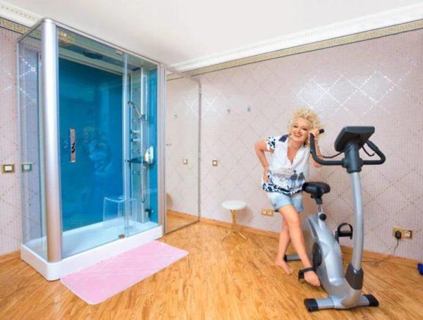 Шикарный интерьер квартиры Надежды Кадышевой