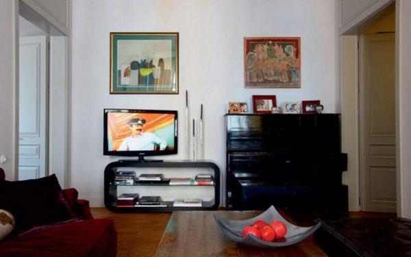 Современный и стильный интерьер квартиры Софико Шеварднадзе