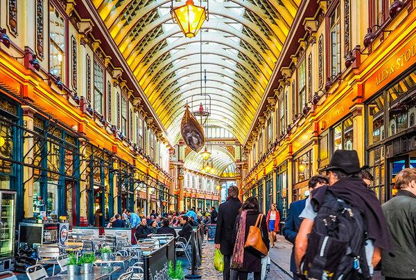 """Фото самых красивых мест съемок """"Гарри Поттера"""" в Лондоне"""