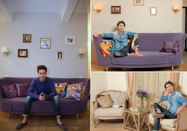 Минимализм и уют в интерьере квартиры Марка Тишмана
