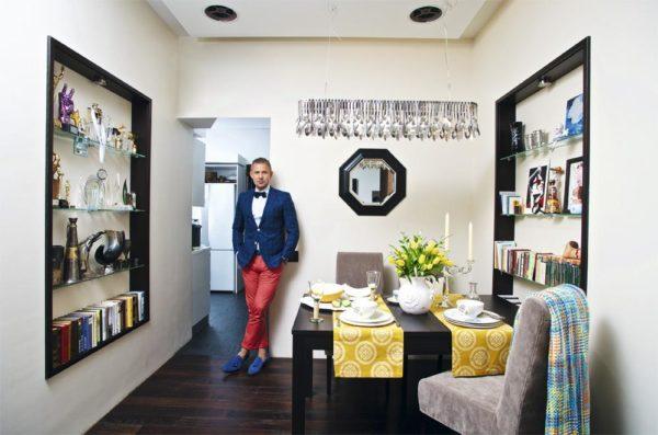 Митя Фомин и его двухэтажная квартира на набережной