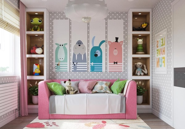 Новые идеи дизайна комнаты для девочек с фото 2020