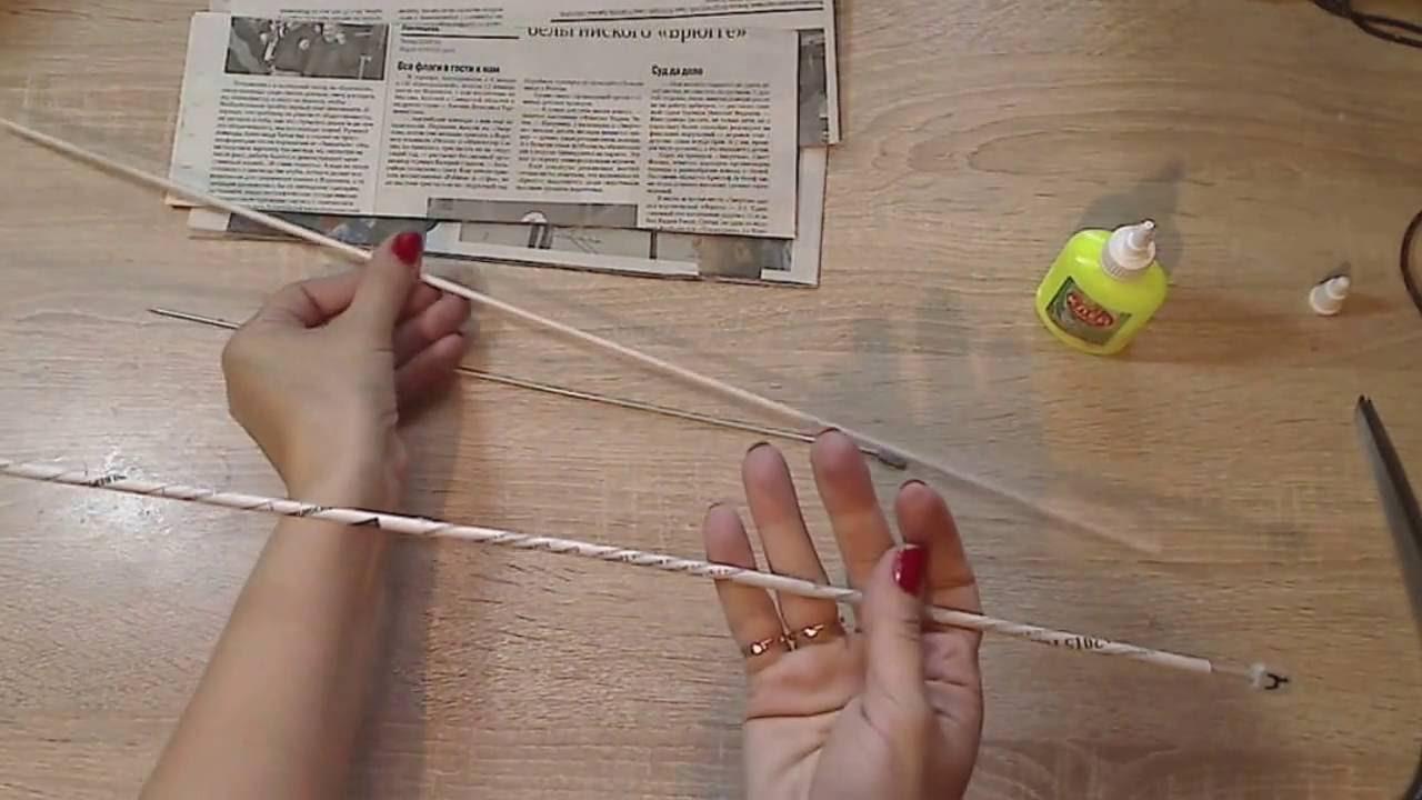 Изготовление трубочек