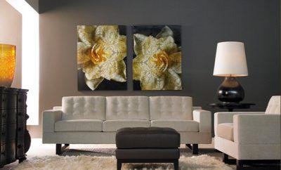 Картины в гостиной
