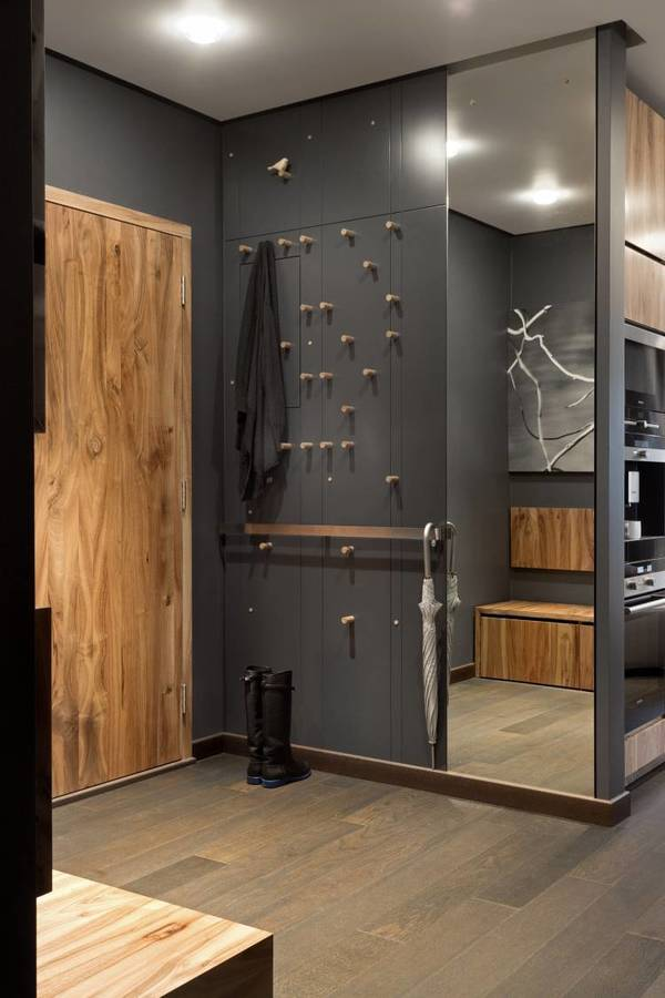 Идеи дизайна узкой прихожей в квартире