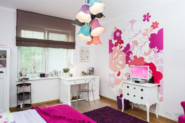 Оформление комнаты для девочки подростка своими руками