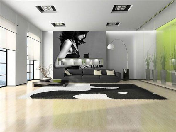 Дизайн гостиной комнаты 30 кв.м в современном стиле