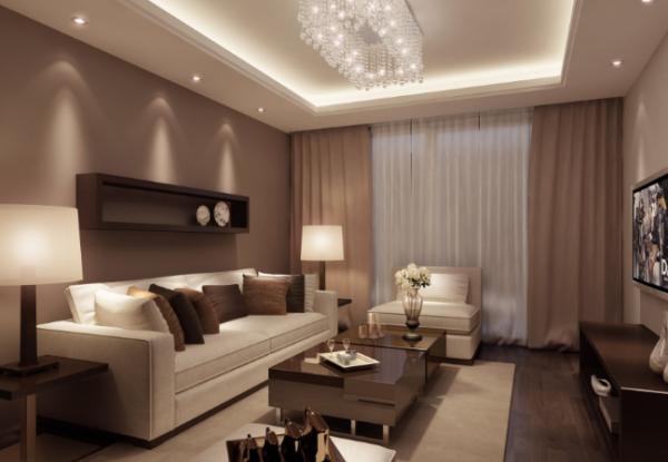 Как подобрать шторы в гостиную по цвету обоев и мебели