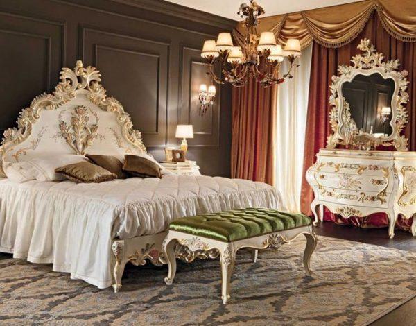 Идеи интерьера спальни в частном доме в классическом стиле