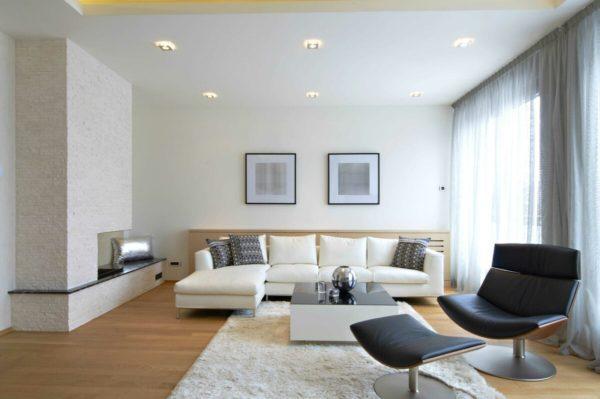 Интерьер зала в квартире в 2020 году