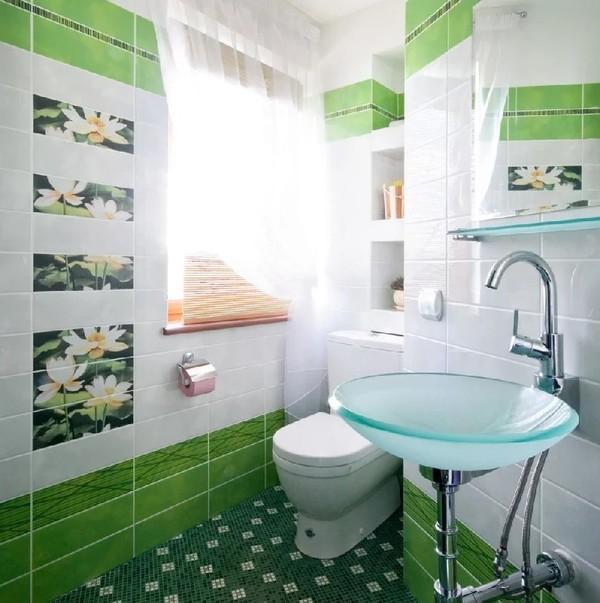 Как выбрать плитку для небольшой ванной и туалета