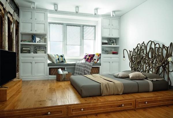 Идеи однокомнатной квартиры 40 квадратов в современном стиле