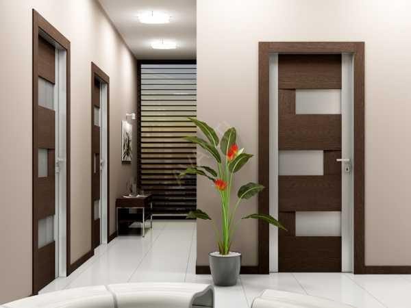 Преимущества и недостатки межкомнатных дверей с облицовкой из экошпона