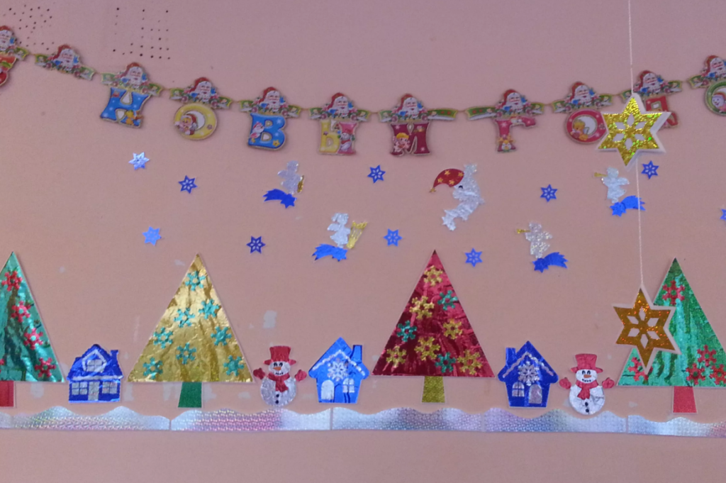 Как украсить группу в детском саду на Новый год 2021 своими руками