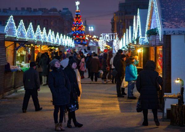 Где встретить Новый год 2021 в Санкт-Петербурге