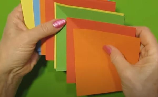 Нарезать квадраты