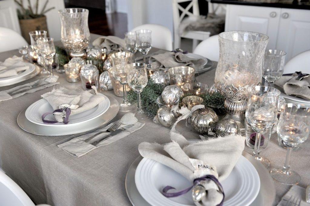 Как красиво оформить стол на Новый год 2021 своими руками