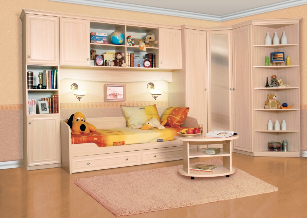Главные особенности выбора мебели для детской