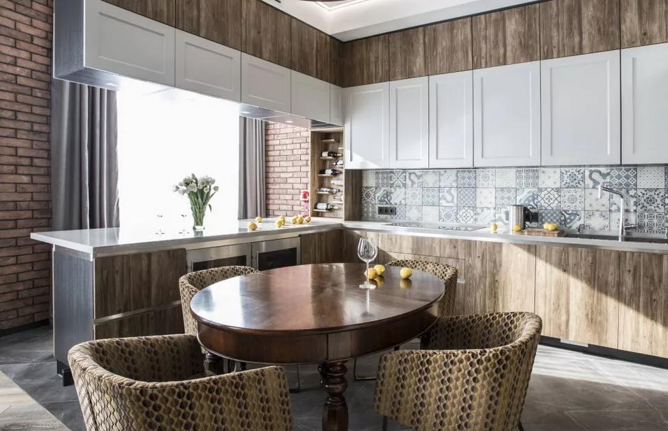 Дизайн кухни в современном стиле в 2021 году