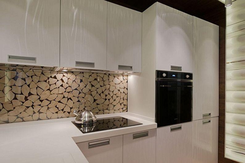 Как оформить стены на кухне в 2021 году